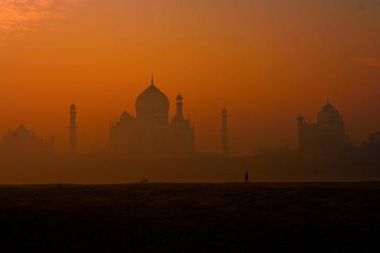 Taj Mahal Wallpapers HD FREE poster