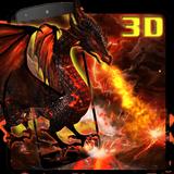 3D Fire dragon