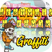 Cool Graffiti Theme&Emoji Keyboard icon