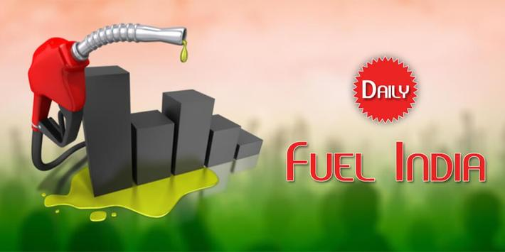 Daily Fuel Price : Fuel Price India Petrol Diesel poster