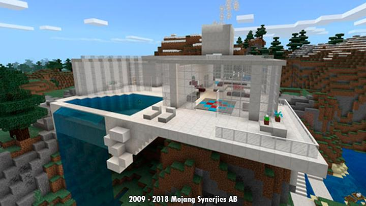 Mountain Modern House For Minecraft For Android Apk Download