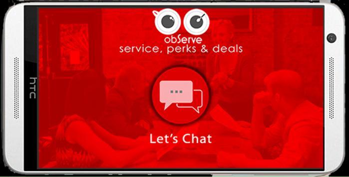 Observe App apk screenshot