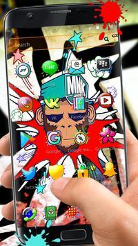 Pop Graffiti Launcher apk screenshot