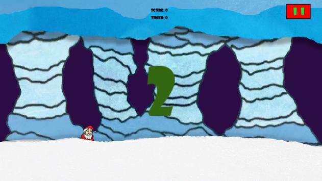 Flappy Santa Runner poster