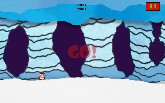 Flappy Santa Runner apk screenshot