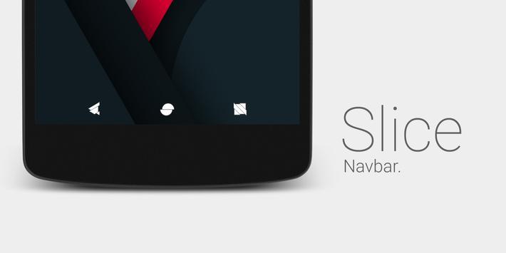 Slice Navbar RRO/Layers Theme apk screenshot