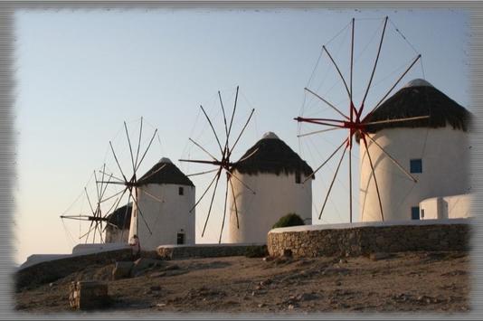 Windmills Wallpaper poster