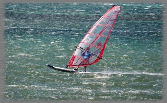 Windsurfing Wallpaper screenshot 2