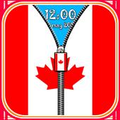 Canada Flag Screen lock icon