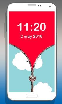 Sky zipper lock apk screenshot