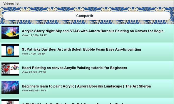 Acrylics Painting apk screenshot