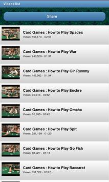 Learn to play card games screenshot 2