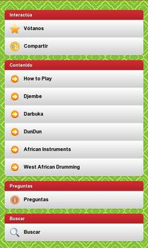 Learn african percussion poster