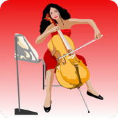 Learn to play the cello icon