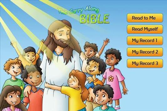 Toddler Bible poster
