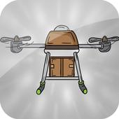 Copter Drone icon
