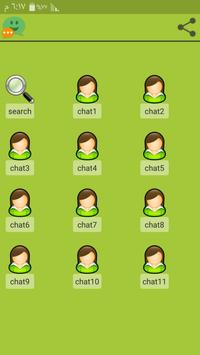 hi chat  find new people poster