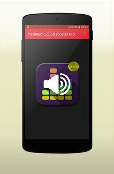 Maximum Sound Booster Pro poster