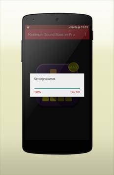 Maximum Sound Booster Pro screenshot 2