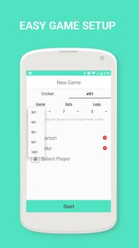 Cork - Cricket Dart Scoreboard apk screenshot