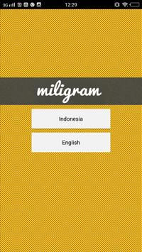 Miligram poster