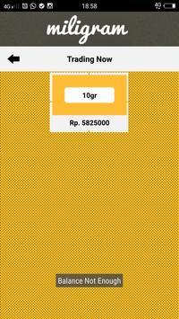 Miligram screenshot 3