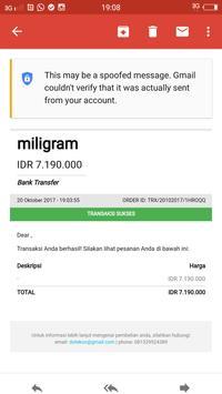 Miligram screenshot 6