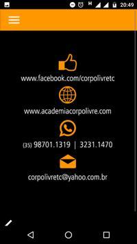 Corpo Livre apk screenshot
