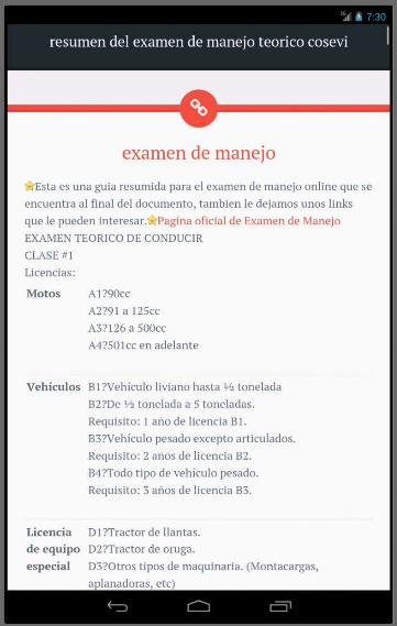 Examen De Manejo Cosevi For Android Apk Download