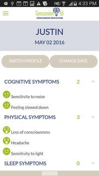 Concussion Ed App apk screenshot