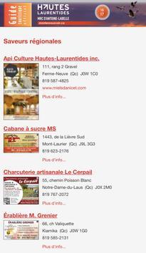 Guide Hautes-Laurentides screenshot 1