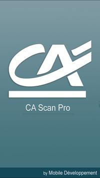 CA SCAN PRO poster