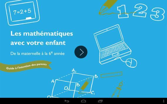 Les mathématiques poster