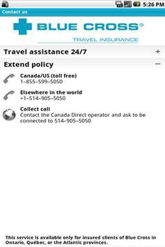 Travel Assistance screenshot 3