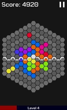HexaGravity Block Puzzle poster
