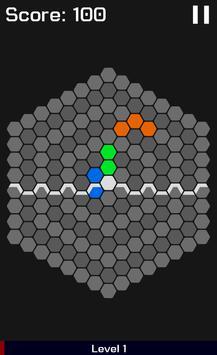 HexaGravity Block Puzzle screenshot 1
