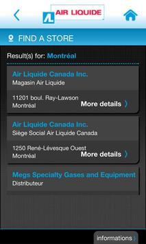 Air Liquide mobile services screenshot 2