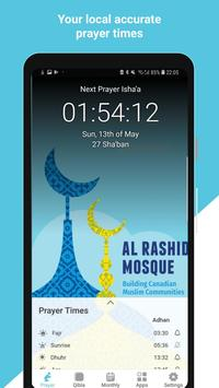 Al Rashid Mosque Edmonton: Prayer times apk screenshot