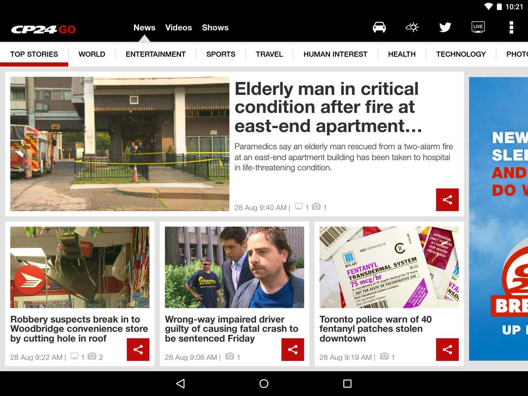 CP24 GO APK Download - Free News & Magazines APP for ...