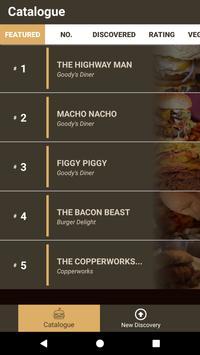 Burgerdex screenshot 1
