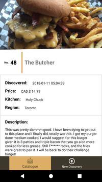 Burgerdex screenshot 2