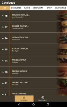 Burgerdex screenshot 7