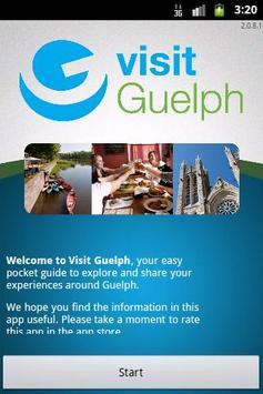 Visit Guelph poster