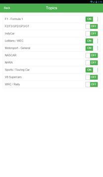 RaceReadr Free screenshot 10