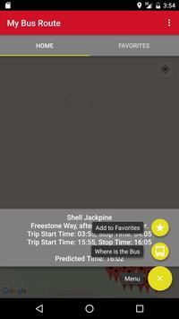 My Bus Route screenshot 3