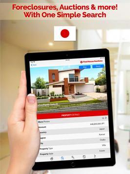 Foreclosure Real Estate Japan apk screenshot