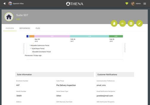 Athena apk screenshot