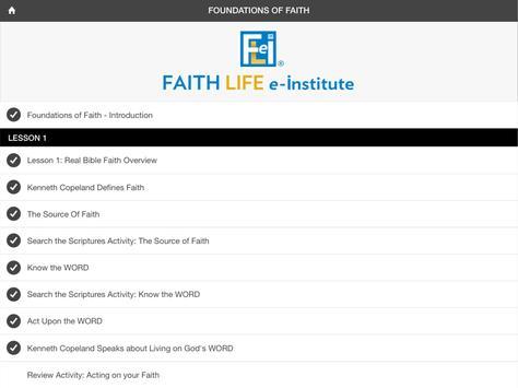FLeI (Faith Life e-Institute) screenshot 12