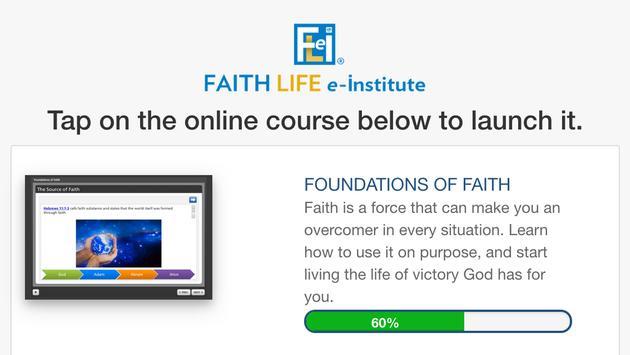 FLeI (Faith Life e-Institute) screenshot 1