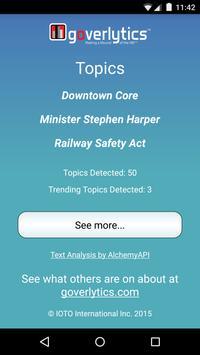 Goverlytics apk screenshot